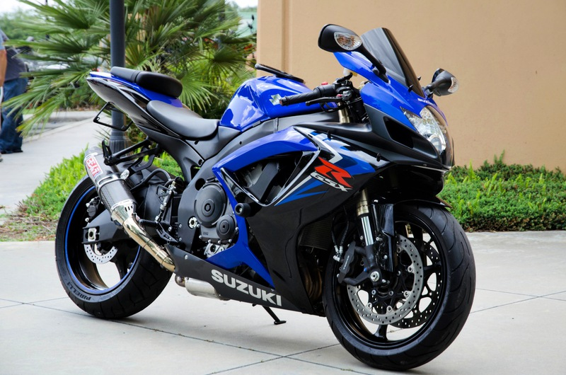 For Sale 2007 Suzuki GSX-R 600 in Miami, Florida